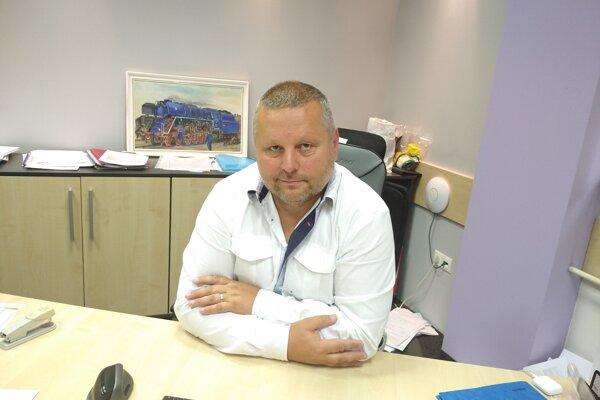 Predseda ObFZ Žilina Igor Krško.