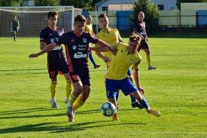 Z pohárového zápasu medzi FTC Fiľakovo a FC Košice