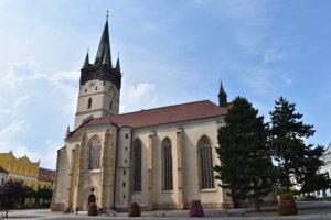 Konkatedrála sv. Mikuláša v Prešove.