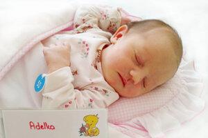 Adela Pilchová z Bystričian sa narodila 7. 8. 2021 v Bojniciach