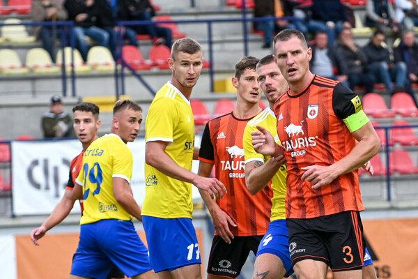 Zo zápasu MFK Ružomberok vs. MFK Zemplín Michalovce