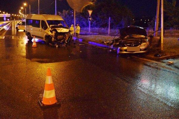 Dopravná nehoda na obchvate - polícia hľadá svedkov.