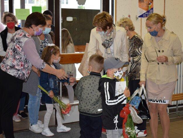 Otvorenie školského roka v ZŠ Komenského