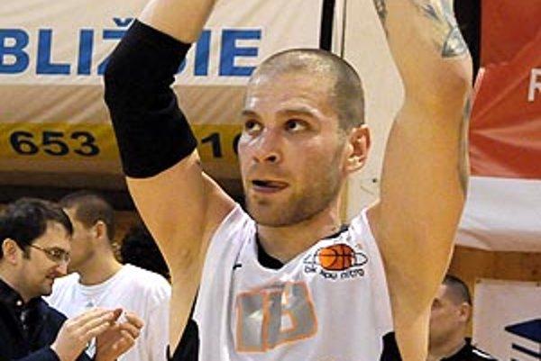 Pavel Bosák zaznamenal v sobotu 31 bodov, najviac v sezóne.