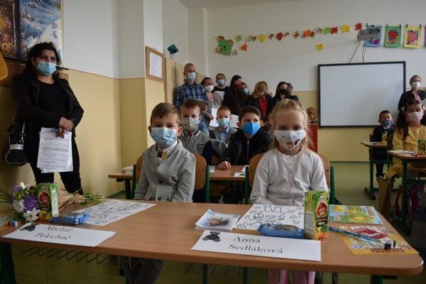 Ilustračná fotografia z otvorenia školského roka na ZŠ Československej armády v Prešove.