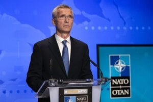 Jens Stoltenberg , generálny tajomník NATO.