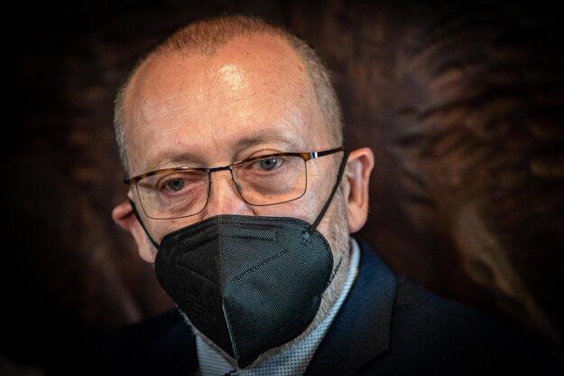 Jozef Kandera, námestník Generálneho prokurátora Maroša Žilinku.