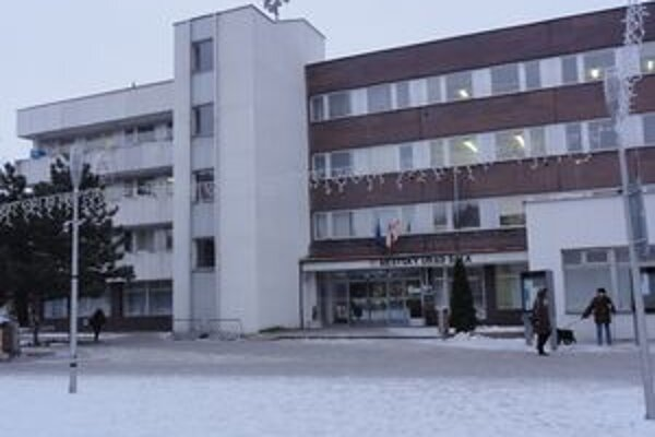 Mestský úrad v Šali.