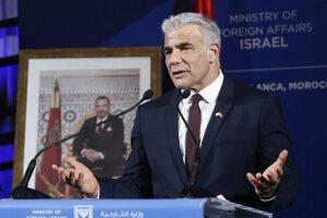 Izraelský minister zahraničných vecí Jair Lapid.