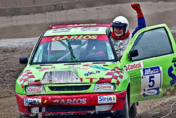 Karol Šedivý ml. bol v cieli najrýchlejší.