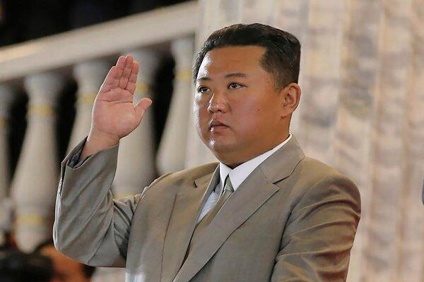 Severokórejský diktátor Kim.