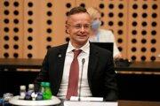 Šéf maďarskej diplomacie Péter Szijjártó.
