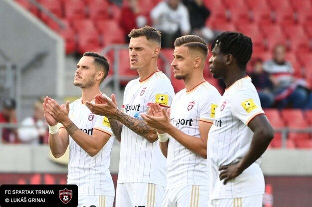 Momentka zo zápasu Spartak Trnava - Sereď.