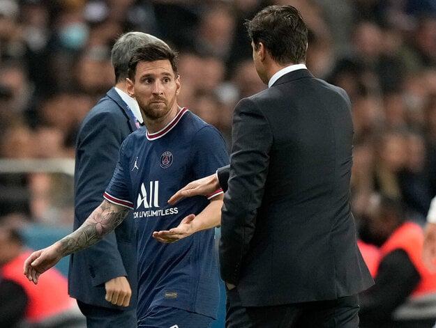 Lionel Messi zostal zo striedania zaskočený.