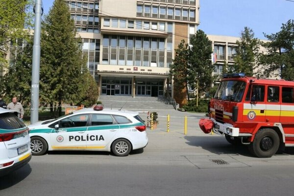 V budove košických súdov hľadali bombu.