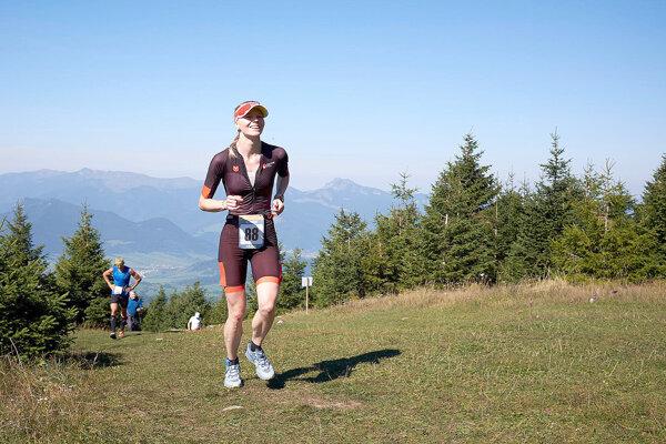 Domáca Monika Chovanová nemohla na pretekoch chýbať.