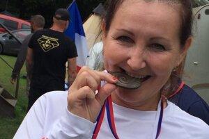 Renáte Kocúrovej sa medailová zbierka utešene rozrastá.