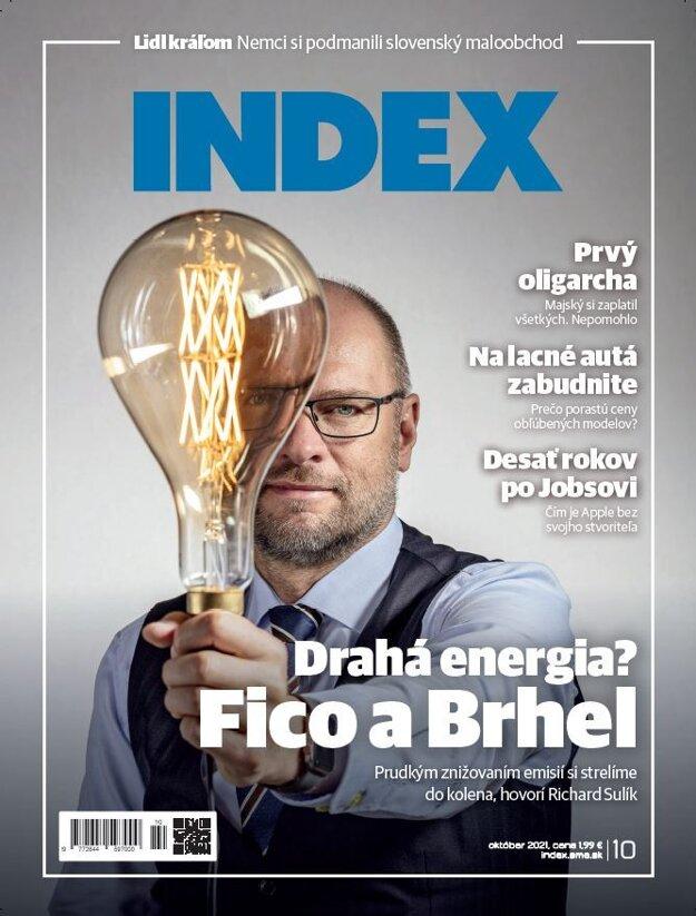 Článok nájdete v októbrovom čísle časopisu INDEXU. Práve v predaji