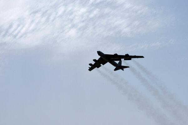 Bombardér B-52H amerických vzdušných síl.