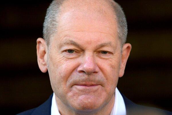 Kandidát SPD na kancelára Olaf Scholz.