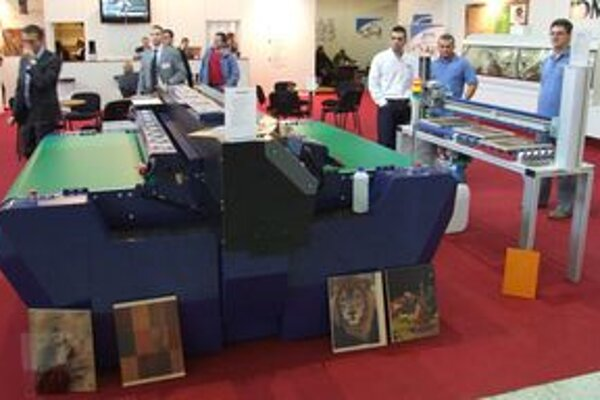 Unikátna tlačiareň stojí 120-tisíc eur bez DPH.
