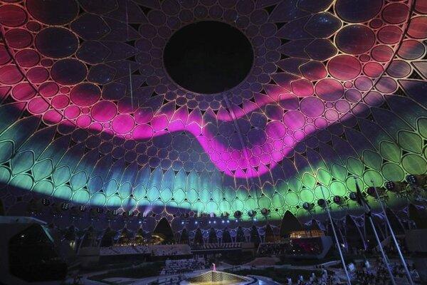 Otvárací ceremoniál svetovej výstavy EXPO v Dubaji v Spojených arabských emirátoch.