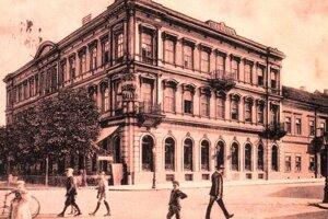 Bývalý košický hotel Európa.