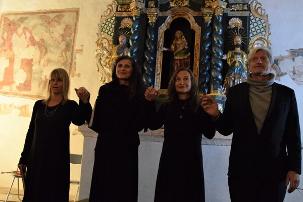 Vokálna skupina VocaMe ukončila koncertom v Rimavskom Brezove prvý ročník medzinárodného hudobného festivalu Pro musica nostra - Gomoriensi.