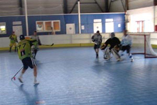 Hralo sa in-line ploche Nitra Arény.