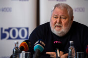 Predseda Klubu 500 Vladimír Soták.