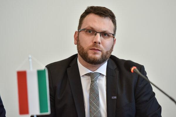 Štátny tajomník ministerstva inovácií a technológií Maďarskej republiky Tamás Schanda.