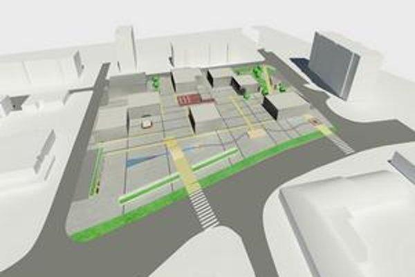 Vizualizácia ako to bude vyzerať po celkovej rekonštrukcii.
