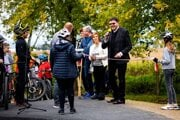 V piatok otvorili novú pumptrackovú dráhu aj za účasti predstaviteľov mesta Partizánske.