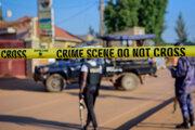 Polícia na mieste výbuchu v Kampale