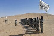 Pohraničníci Talibanu po ukončení trojtýždňového výcviku.