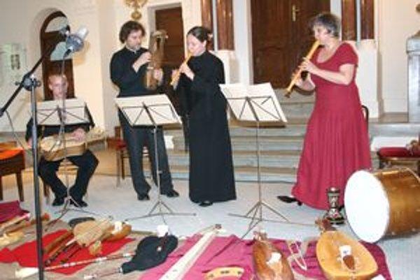 Súbor Musicantica Slovaca je spoluorganizátorom Európskeho festivalu dávnej hudby v Nitre.