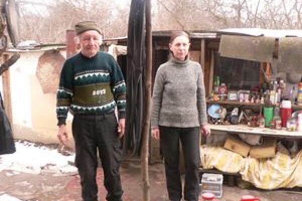 Zuzka a Jozef bývajú pri Váhu už päť rokov.