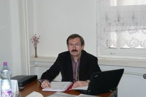 Prezident Regionálnej komory zubných lekárov Július Ladický.