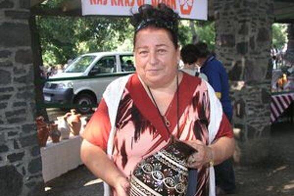 Najkrajším vínnym džbánom sa môže popýšiť Irena Števková z Nitry.