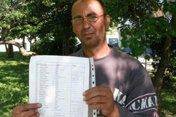 Organizátor petície Július Vizvári tvrdí, že budú bojovať, pokým im terénneho sociálneho pracovníka Jozefa Révaya nevrátia.