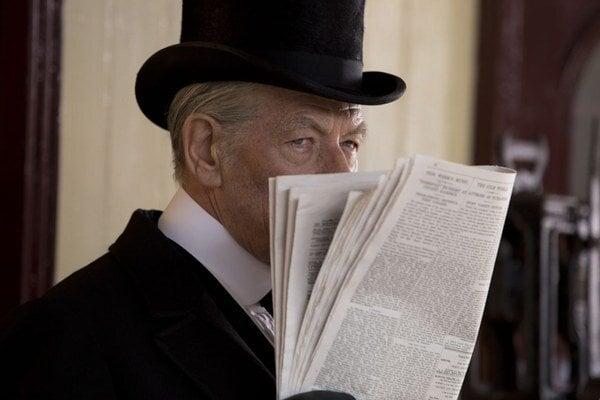 Ian McKellen ako nový Mr. Holmes.