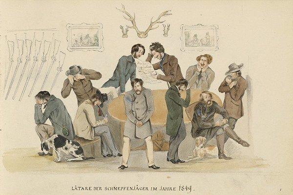Meno Biedermeier vzniklo z karikatúry.