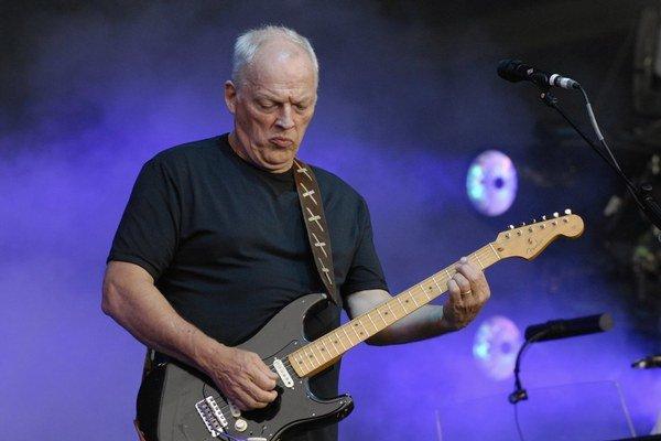 David Gilmour, gitarista skupiny Pink Floyd.