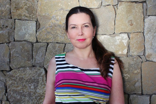 Dramaturgička Katarína Gažová (44).