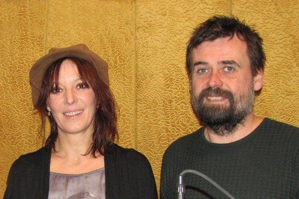 Peter Lipovský a jeho manželka Szidi Tobias.