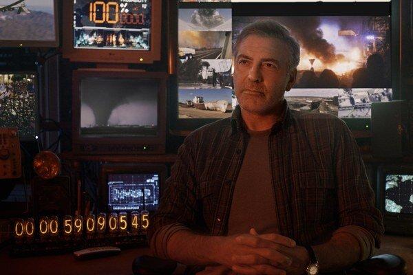 George Clooney, tentoraz ako geniálny vedec vo filme Krajina zajtrajška.