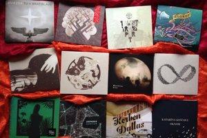 """Všetky tieto albumy majú spoločné """"len"""" jedno – vydavateľa."""