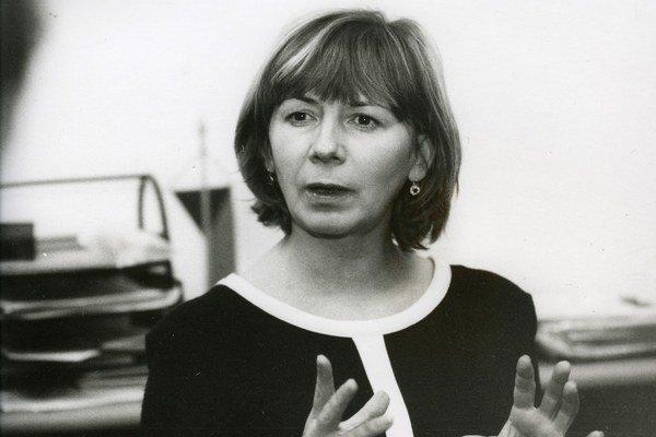 Lenka Zogatová nastúpila v 90. rokoch do Českého centra v Bratislave.