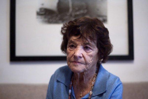 Agneša Kalinová (15. 7. 1924 - 18. 9. 2014)