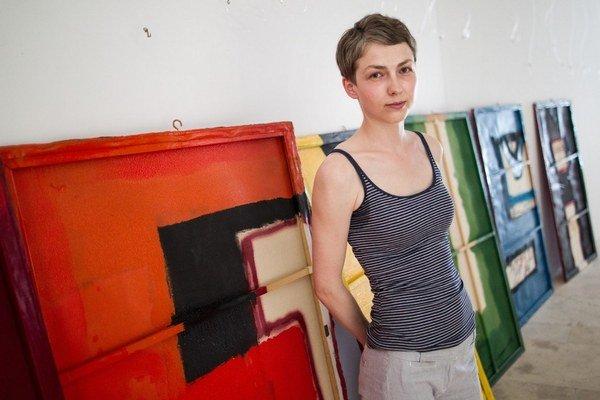 Kurátorka Nina Vrbanová.